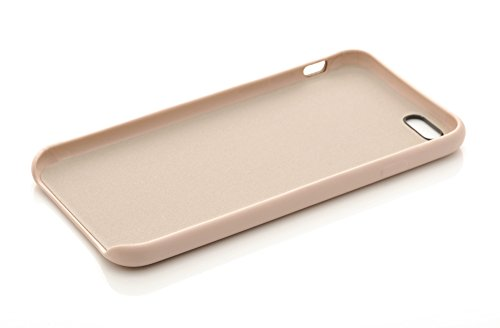 iProtect Kunstleder Schutzhülle Apple iPhone 6 Plus flexibles Case in Grau Beige