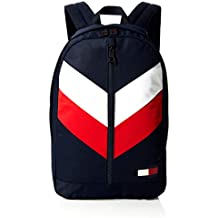 Tommy Hilfiger Chevron Hombre Backpack Rojo
