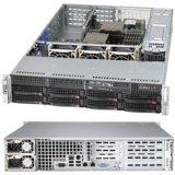 Super Micro Server Geh CSE-825TQ-R740WB 2U 700W Redu