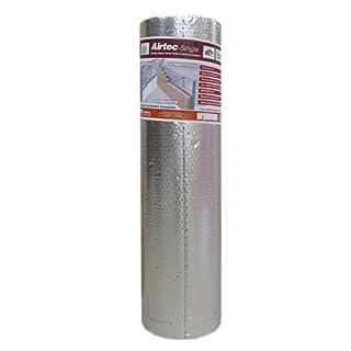 Airtec 1200mm x 25m x 3.7mm Single Multi-Layer Bubble Film Insulation