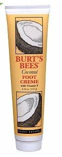 Burt's Bees Foot Creme, Coconut, 4.34 oz by Burt's Bees (Burts Bee Coconut Foot Creme)