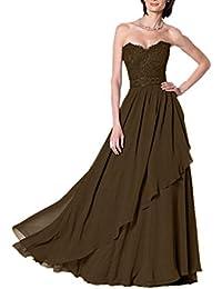 Royaldress Elegant Dunkel Blau Spitze Traegerlos Abendkleider  Brautmutterkleider Partykleider lang 9cfeab1e56