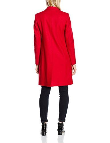 French Connection Damen Mantel Platform Felt Ls Classic Coat Rot (RED SKY 60)