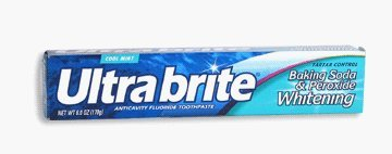 Ultra Brite Zahnpasta Baking Soda & Peroxide 180 ml (12er-Pack)