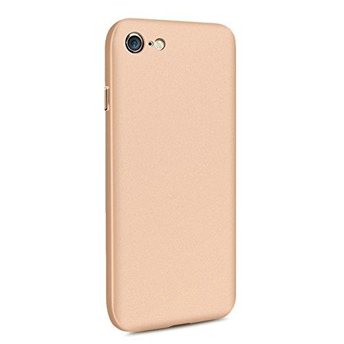 iPhone 6 Plus hülle vanki® Tasten Matt Hart PC Schutzhülle Case Cover Bumper Vollschutz Handyhülle für iPhone 6 Plus/6s Plus (5,5 Zoll) (Rose gold) Gold