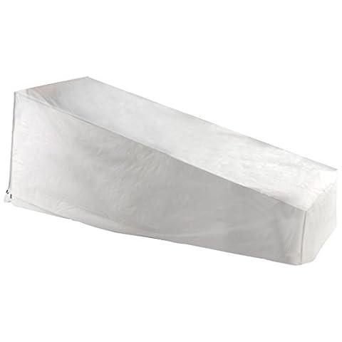 Ultranature Housse de protection pour chaises longues de jardin ou transats, couverture imperméable pour chaises longues de jardin, bains de soleil et chaises longues, housse résistant aux intempéries pour