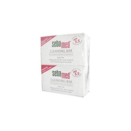 Sebamed limpieza Bar 100g-cuidado piel vitamina