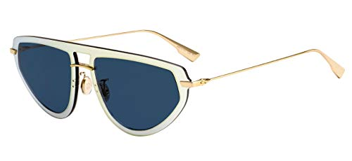 Christian Dior DiorULTIME2 JW Brille, Gold Blue/BL Blau, 56 Damen