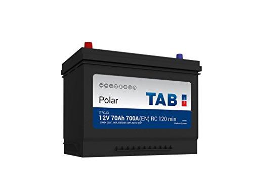 TAB Batterie Voitures Polar S Démarrage S70JX M10G 12 V 70AH 600 AMPS (en)