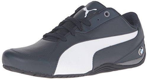 Puma Mens BMW Ms Drift Cat 5 Fashion Sneaker Team Blue/Puma White