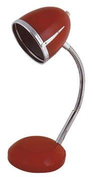 Tischlampe im Retro-Style COLOMBUS rot von MIK funshopping - Lampenhans.de