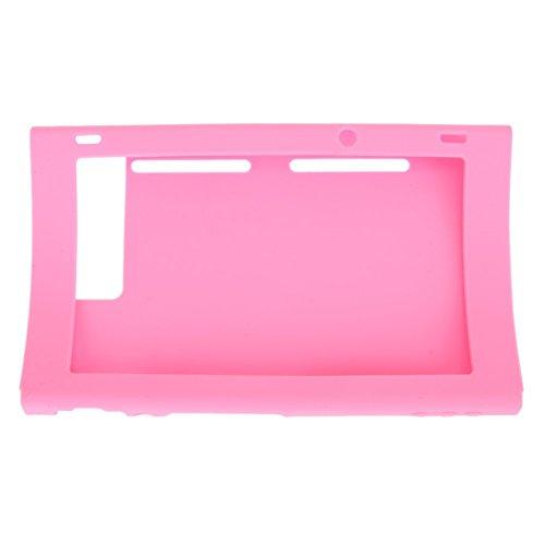 Chickwin Nintendo Switch Host case Silikon Tasche Schutzhaut Tasche Slim Soft Gel Protective Cover (Rosa)