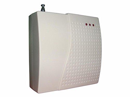 ABTO Home-Security-Lösung drahtlose Smart WiFi und GSM Alarmanlage Unterstützung App Fernbedienung und GSM-Telefonanruf (Signalverstärker)