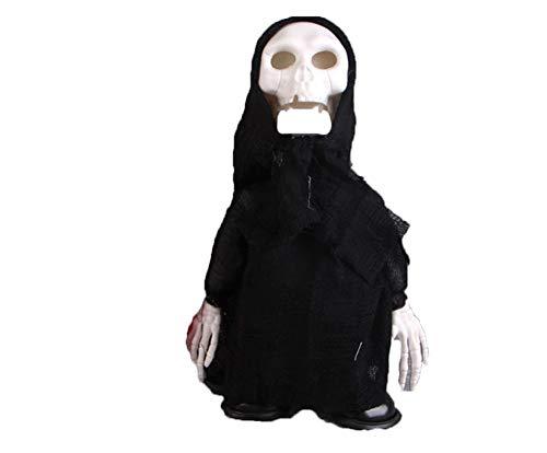 MTSBW Halloween Props Ghost Festival Horror Scary Elektrische Lustige Bar Spukhaus Dekorationen Induktion Sprachsteuerung Walking Skeleton