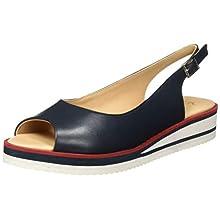 ARA Women's Durban Open Toe Sandals, Blue Blue 02, 5 UK