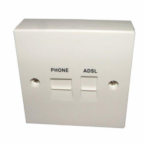Solwise ADSL-FFP85D ADSL85 mm Splitterfilter -
