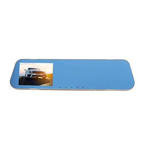Starnearby V40 3.8in Doppelobjektiv HD 1080P Auto Rückspiegel DVR Kamera G Sensor Video Recorder Dash Cam