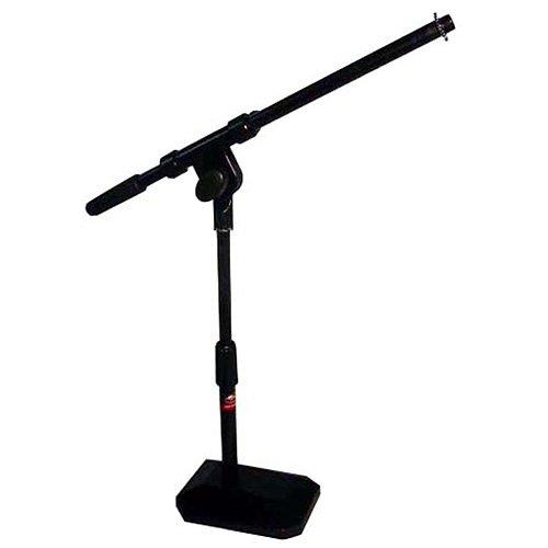 Stagg MIS1112BK Tisch Mikrofonständer mit Galgen