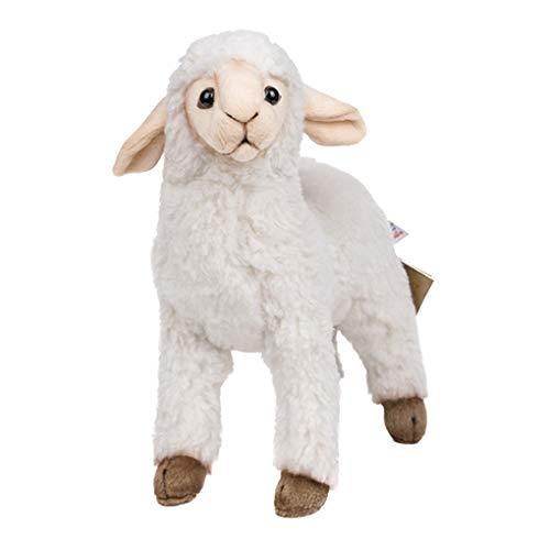 Naughty baby Simulations-Tierplüschspielzeugschafpuppenpuppepuppenbaby-Puppengeschenk Senden Der...