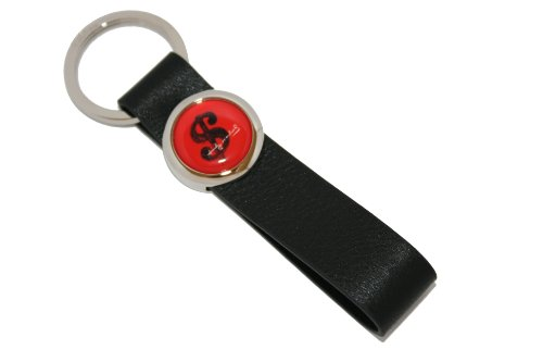 Dollar Einen Für Schlüsselanhänger (Andy Warhol 2st LIMITED EDITIONS - Schlüsselanhänger Lederschlaufe DOLLAR SIGN)