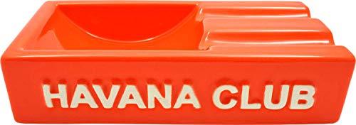 Orange Aschenbecher für 2 Cigarren. Made in France. ()