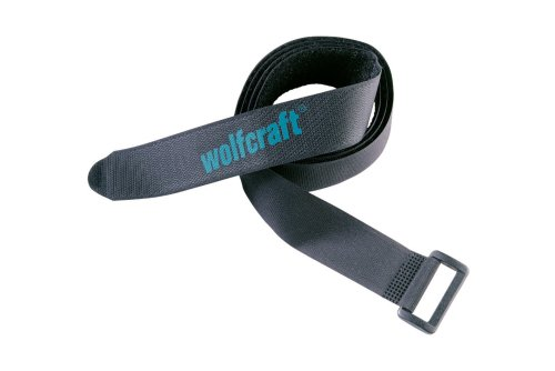 Wolfcraft 3009000 Lot de 2 Sangles velcro 1200 x 30 mm