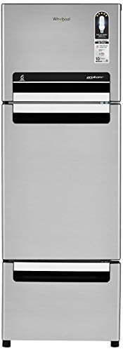 Whirlpool 240 L Frost-Free Multi-Door Refrigerator (FP 263D PROTTON ROY, German Steel)