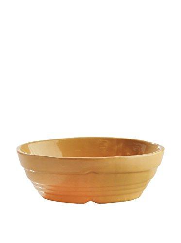 Mason Cash Cane Runde Backform aus Keramik, Beige, 12 cm, Keramik, beige, 17 x 13 x 6 cm