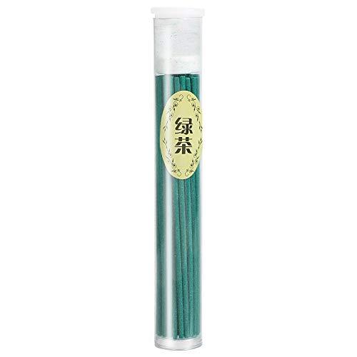 iTimo 50 Teile/schachtel Indoor Natürliche Weihrauch, Brenner Sticks, Schlaf Gesundheit Räucherstäbchen, für Heimtextilien (Grüner Tee) -