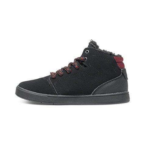 DC Shoes Crisis High Wnt - Sneaker unisex bambino Nero (Black/Battleship/Ath)
