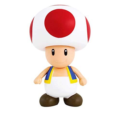 SONGDP Anime-Spielzeug 3 Stil Anime Modell Charakter Super Mario Kunststoff Action Figure Spiel Charakter Dekoration Werbung Werbegeschenk - Gedenkgeschenk - Maskottchen Super Mario Mädchen Herz Auto