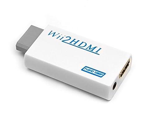 QUMOX Wii HDMI Converter / Wii vers HDMI Converter -