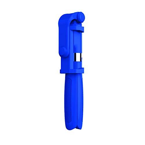 Selfie-Stick Stativ, Ausziehbarer Bluetooth Selfie Stick Tragbares Einbeinstativ mit Drahtloser Fernbedienung 2 in 1 Multifunktionsstativ für 3,5-6 Zoll Smartphones,JSxhisxnuid (Blau) Mobile Action Bluetooth
