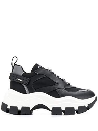 Prada Damen 1E586lf0753ky9f0967 Schwarz Polyester Sneakers