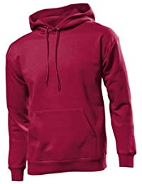 Fruit of the Loom Hommes Pull 12208B - rouge - rouge, S