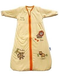 Slumbersac Baby Long Sleeve Sleeping Bag (6-18 Months, 2.5 Tog, Sunshine Zoo)
