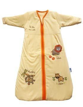 Slumbersac–Saco de dormir de manga larga (12–36meses, 3,5tog, Zoo de sol)