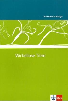 Wirbellose Tiere: Kopiervorlagen mit CD-ROM Klassen 5-10 (Arbeitsblätter Biologie) -