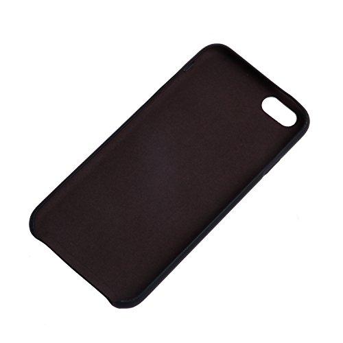 iPhone 7 Plus / 8 Plus Hülle,UltraSlim Thermo Sensor Fluoreszierende Thermo Hitze Induktion matt weich PC Schutzhülle Handyhülle Tasche für Apple iPhone 7 Plus / 8 Plus 5.5 Zoll mit Farbwechsel Back C Sensor-Grün handabdruck