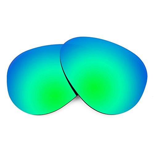 Revant Ersatzlinsen für Ray Ban Aviator RB3025 55mm Polarisierung Emerald Grün MirrorShield®