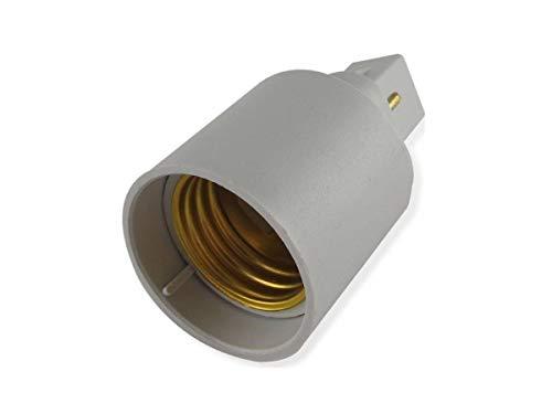 ADATTATORE G24 - E27 PER SOLO LAMPADINE A LED