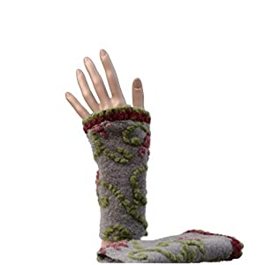 Pulswärmer Handstulpe Arm Stulpe Filz Bio PV