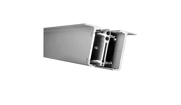 Almencla Plaque dAppui en Aluminium Rallonge de Pied de B/équille Lat/érale pour BMW K1600GT K1600GTL 16-18 K1600B Noir