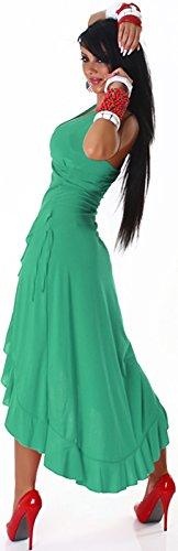 Jela London - Robe - Dos nu - Uni - Femme Vert