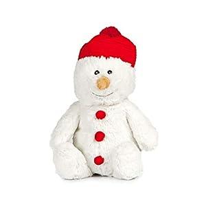PELUCHO de muñeco de Nieve, Botella de Hielo, Color Blanco, Rojo