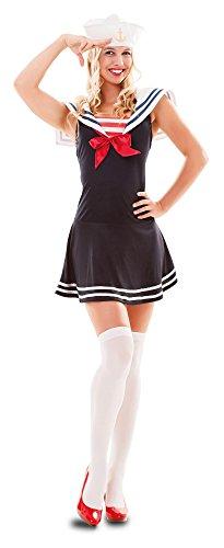 L - Größe 42 (L) (Sailor Girl Kostüm Für Frauen)