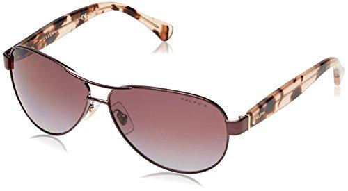 Ralph Lauren Purple Label Damen RA4096 249/62 Sonnenbrille, Rosa (Rose), One size (Herstellergröße: 59)