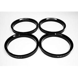 4 Randfelgen Bügel 75 - 67.1 für Felgen-Aluminium ANTERA Avus Imola Mythos oz Racing Superleggera ultraleggera