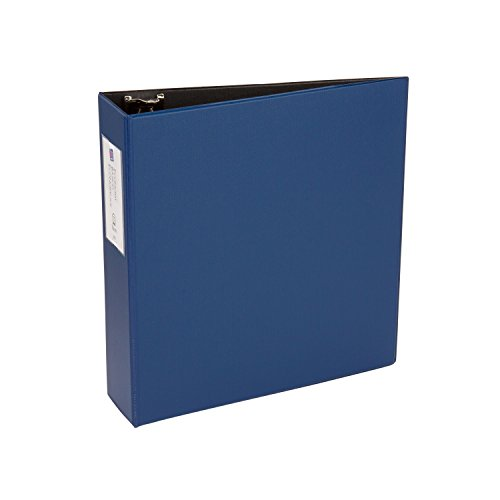 ECONOMY ROUND RING REFERENCE BINDER  3 CAPACITY  BLUE  SOLD AS 1 EACH