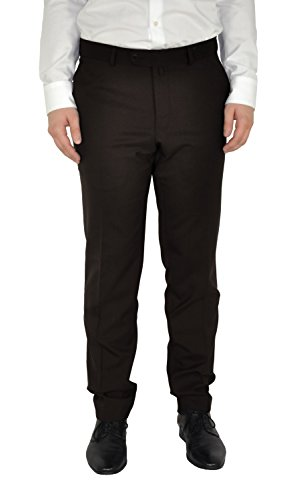Michaelax-Fashion-Trade - Pantalon de costume - Uni - Homme Braun (27)